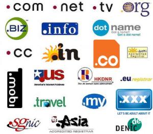 top domain names